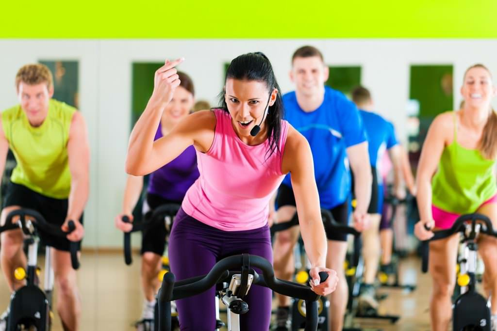 Indoor cycling instructor