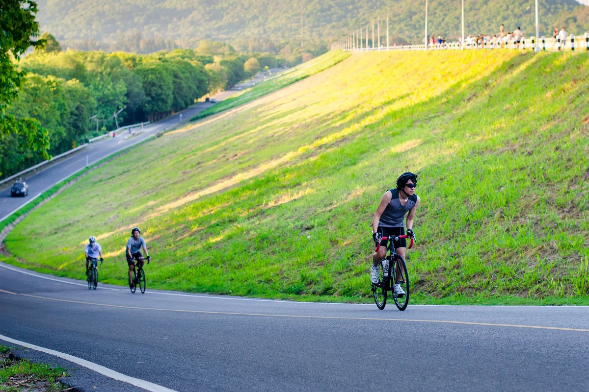 Uphill exercise benefit