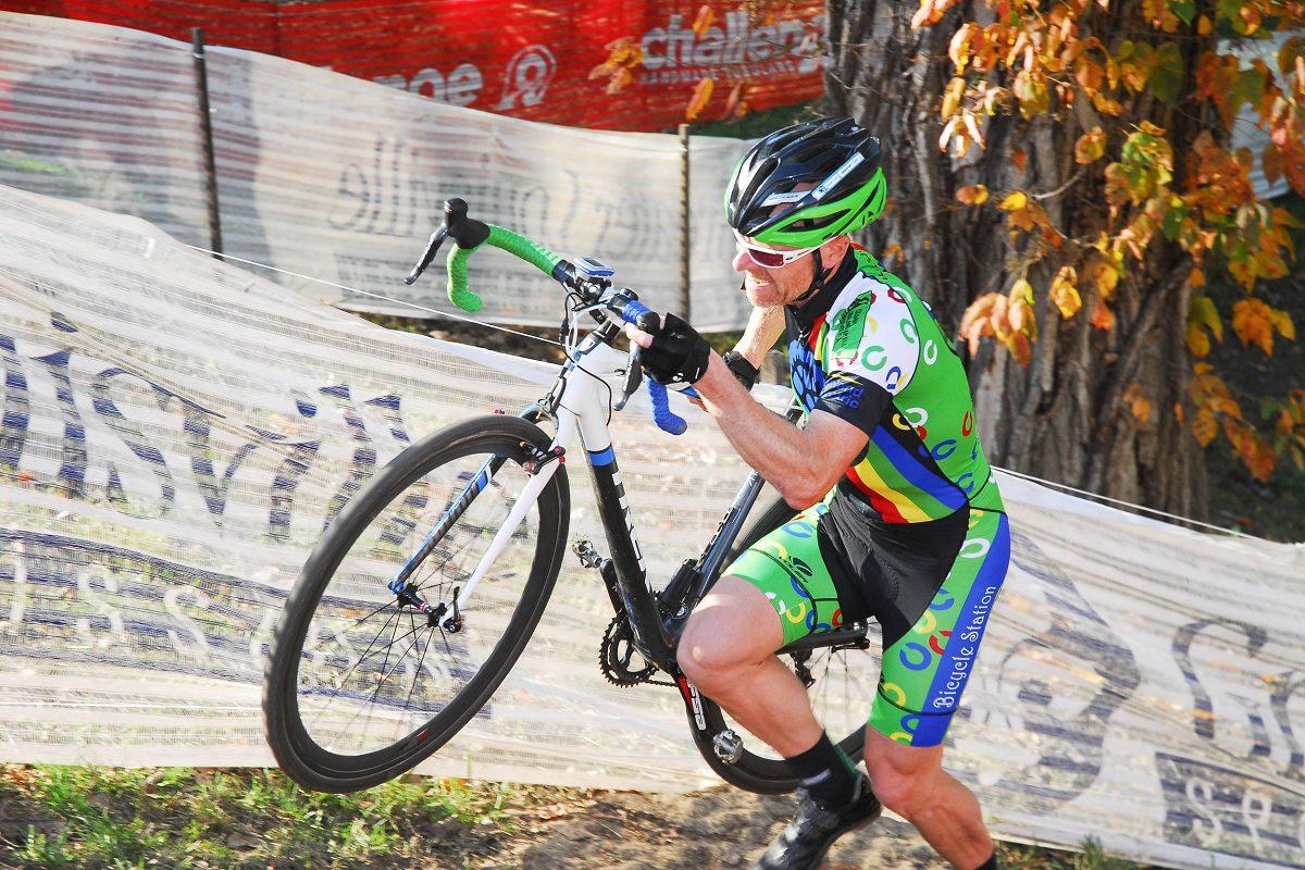 Cyclocross race