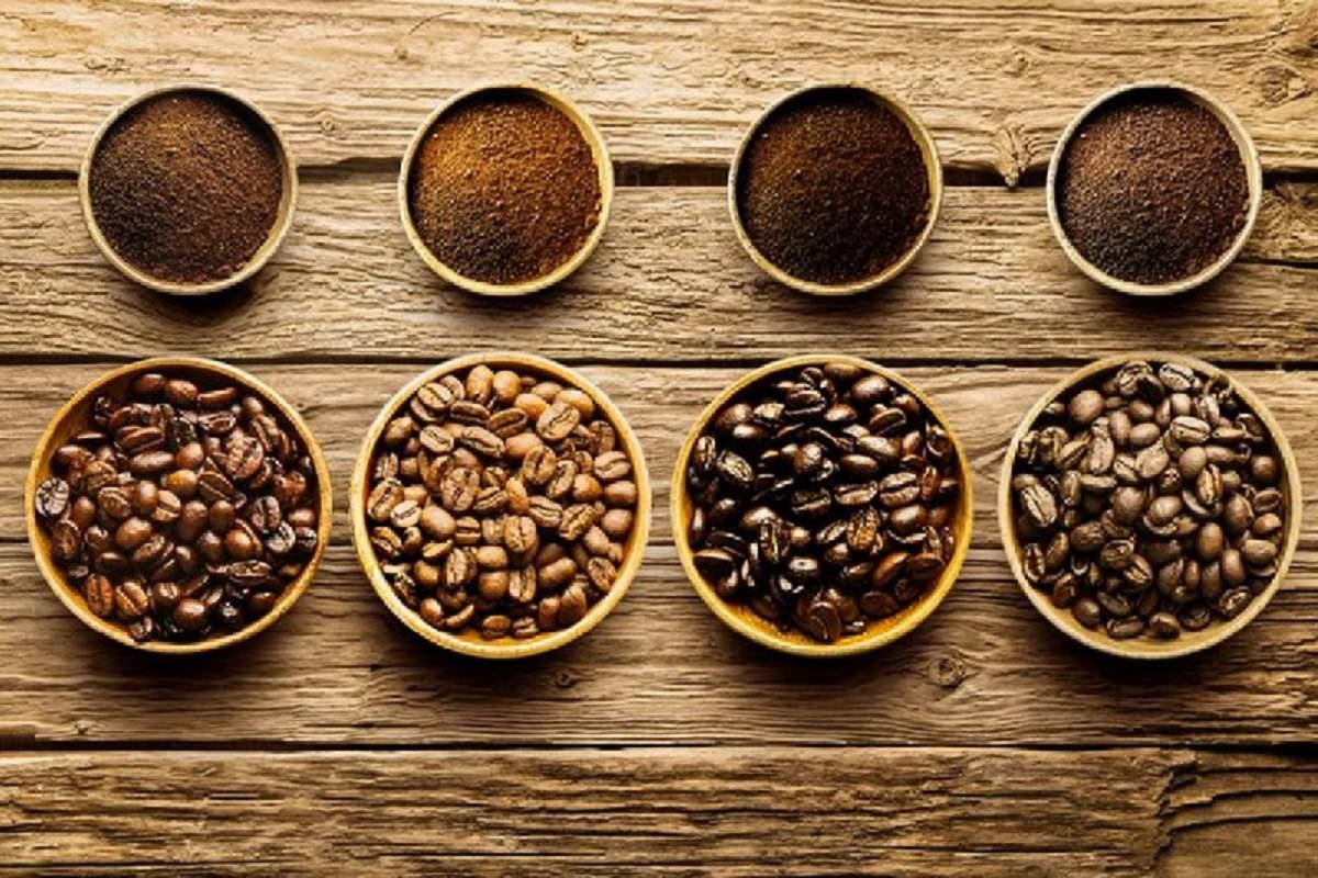 Fresh roast coffee beans