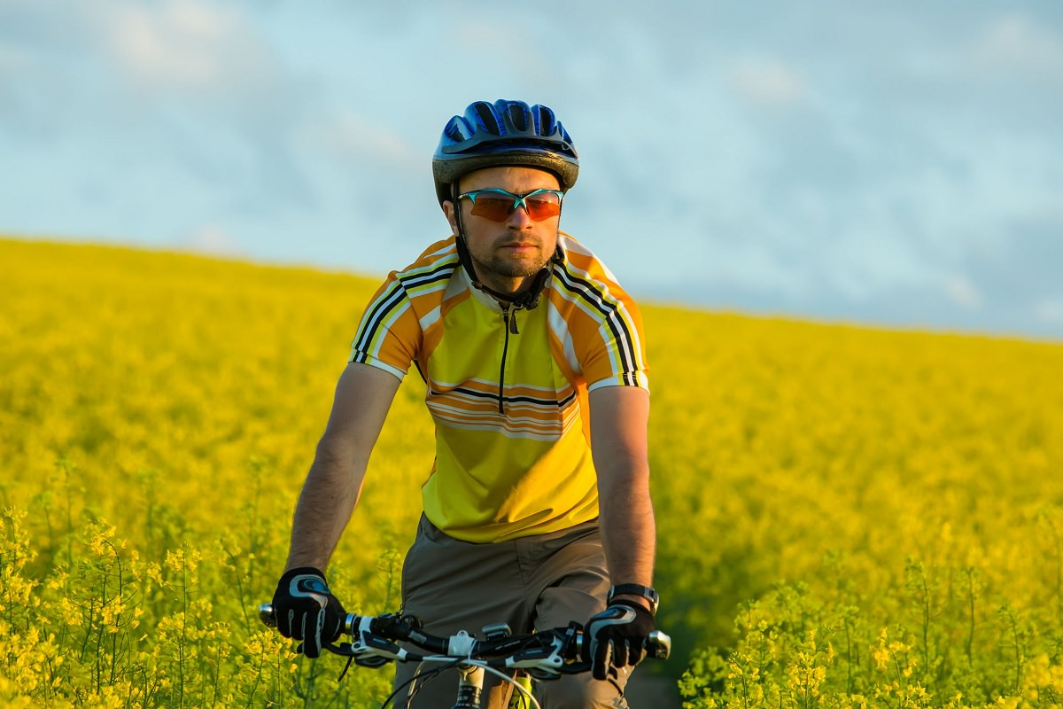 Thinking cyclist