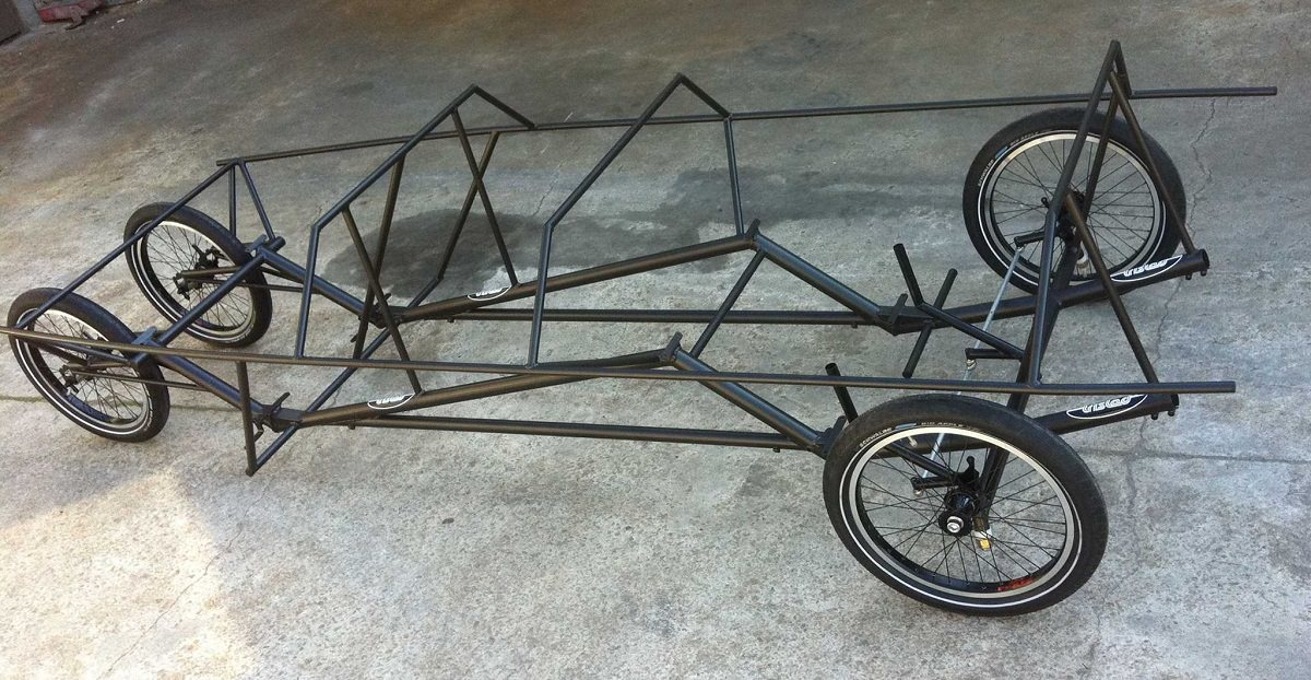 Here Is The 4 Person Velomobile You Ve Never Heard Of