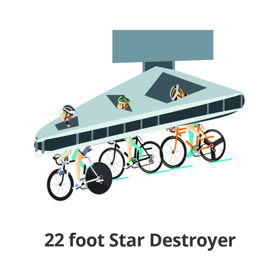 22 foot Star Destroyer