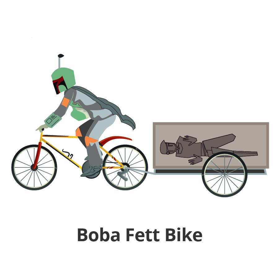 Boba Fett Bike