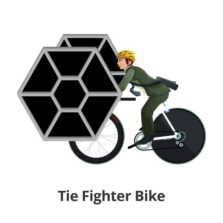 Tie Fighter Bike