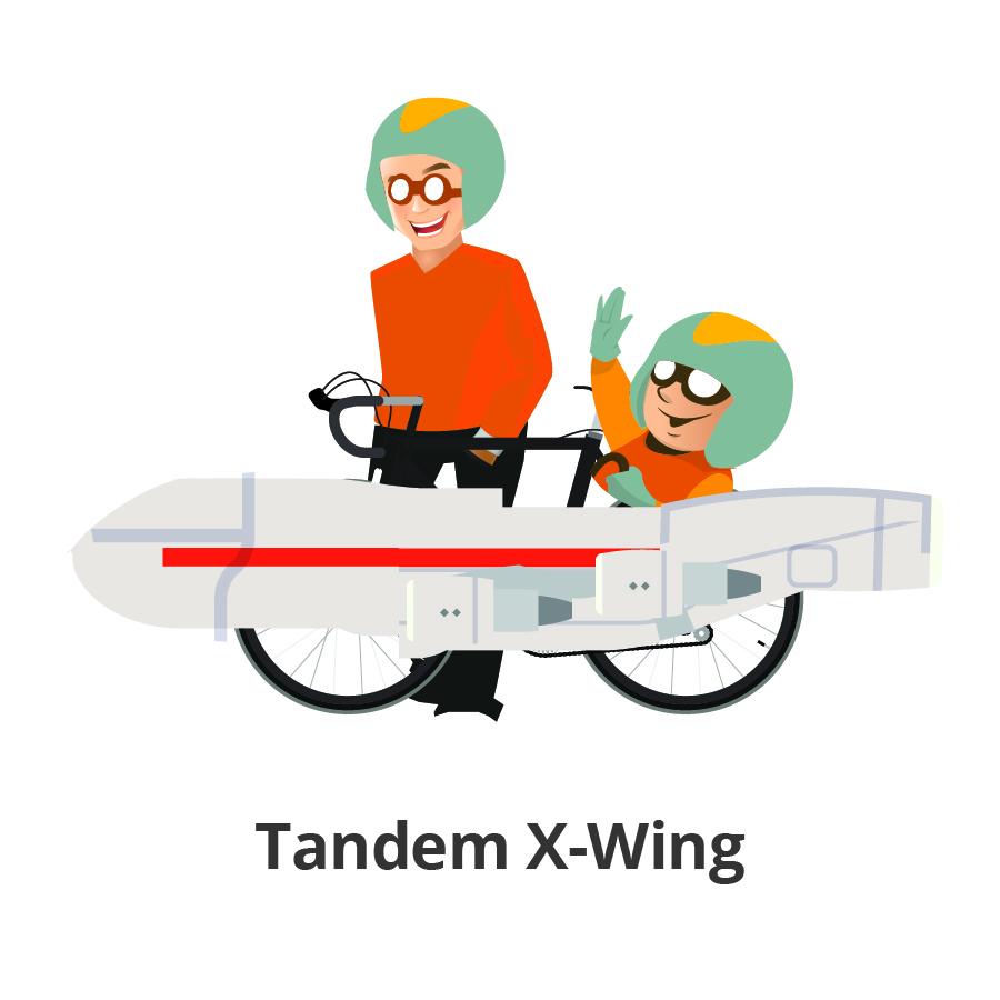 Tandem X-Wing