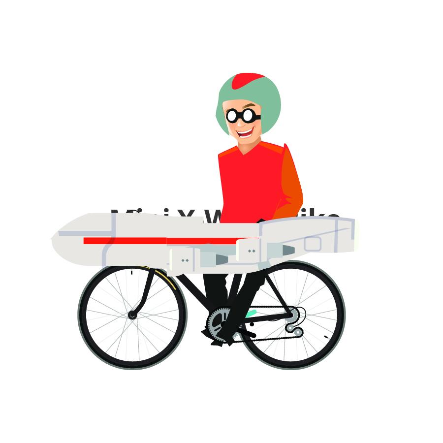 X-Wing Bike