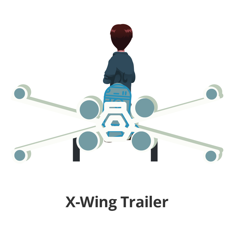X-Wing Trailer