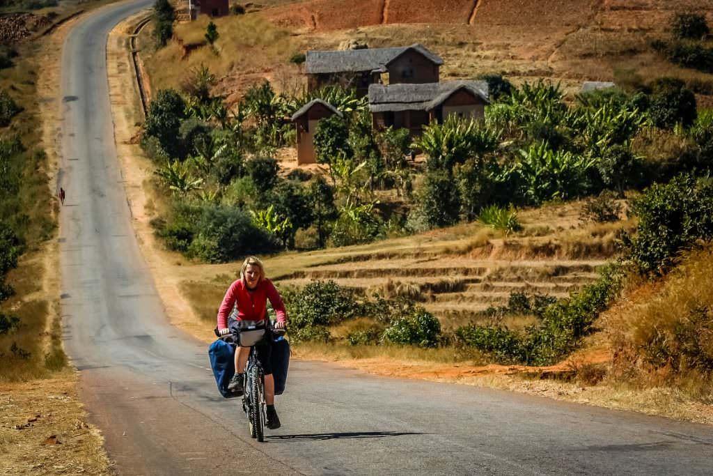 Bikepacking uphill