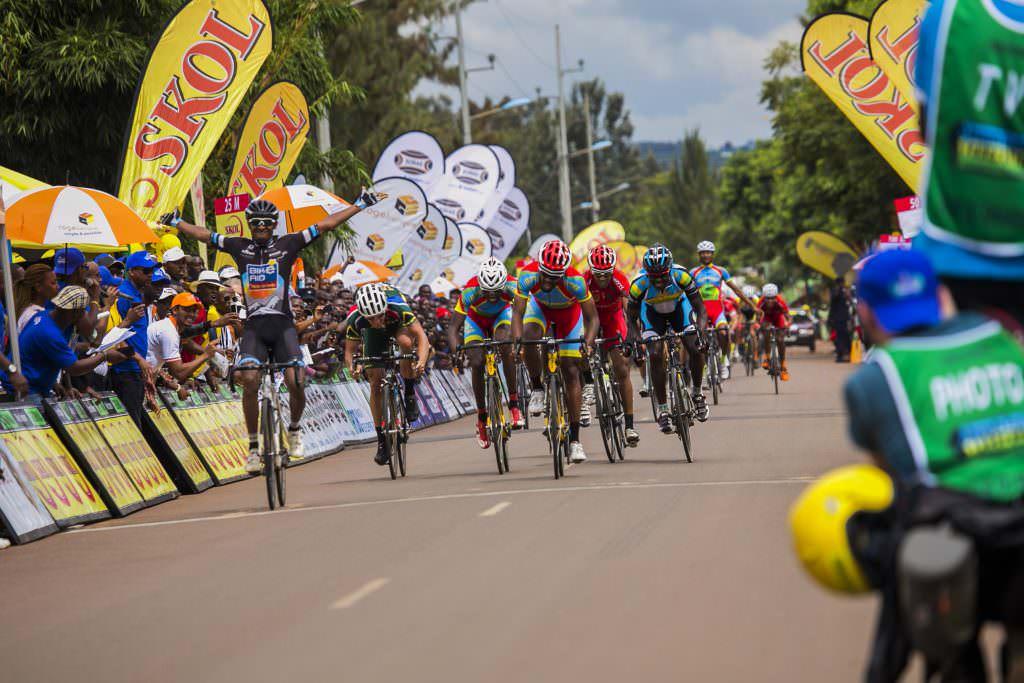 Mekseb Debesay Bike Aid racing in Europe