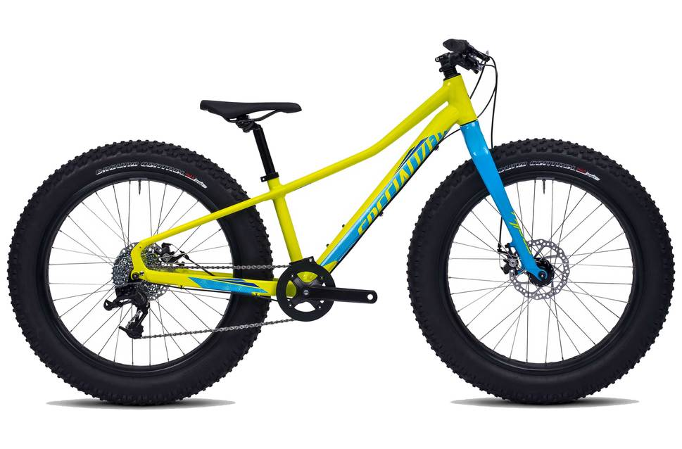 Specialized Fatboy 24 2017 Mountain Bike | Yellow - 24 Inch wheel