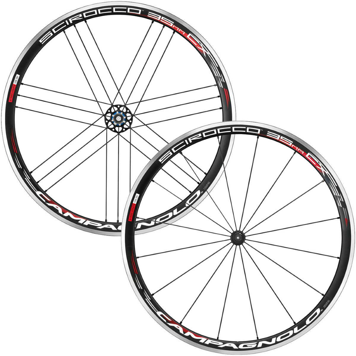 Campagnolo Scirocco 35 CX Clincher Wheelset Performance Wheels