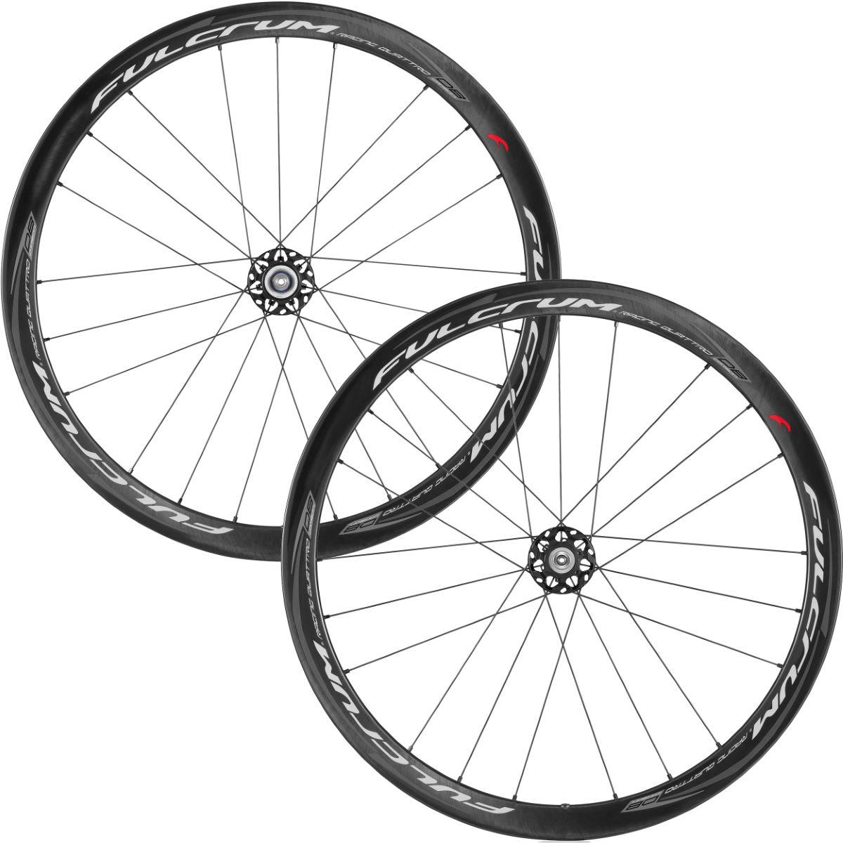 Fulcrum Racing Quattro Carbon Clincher Wheelset Disc Performance Wheels