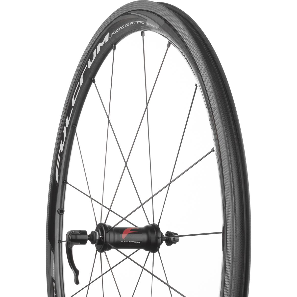 Fulcrum Racing Quattro Carbon Wheelset Clincher UD Carbon Campagnolo