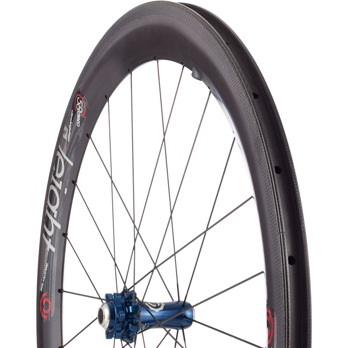 Industry Nine C58 Aero Disc Wheelset Blue 9x100F 10x135R