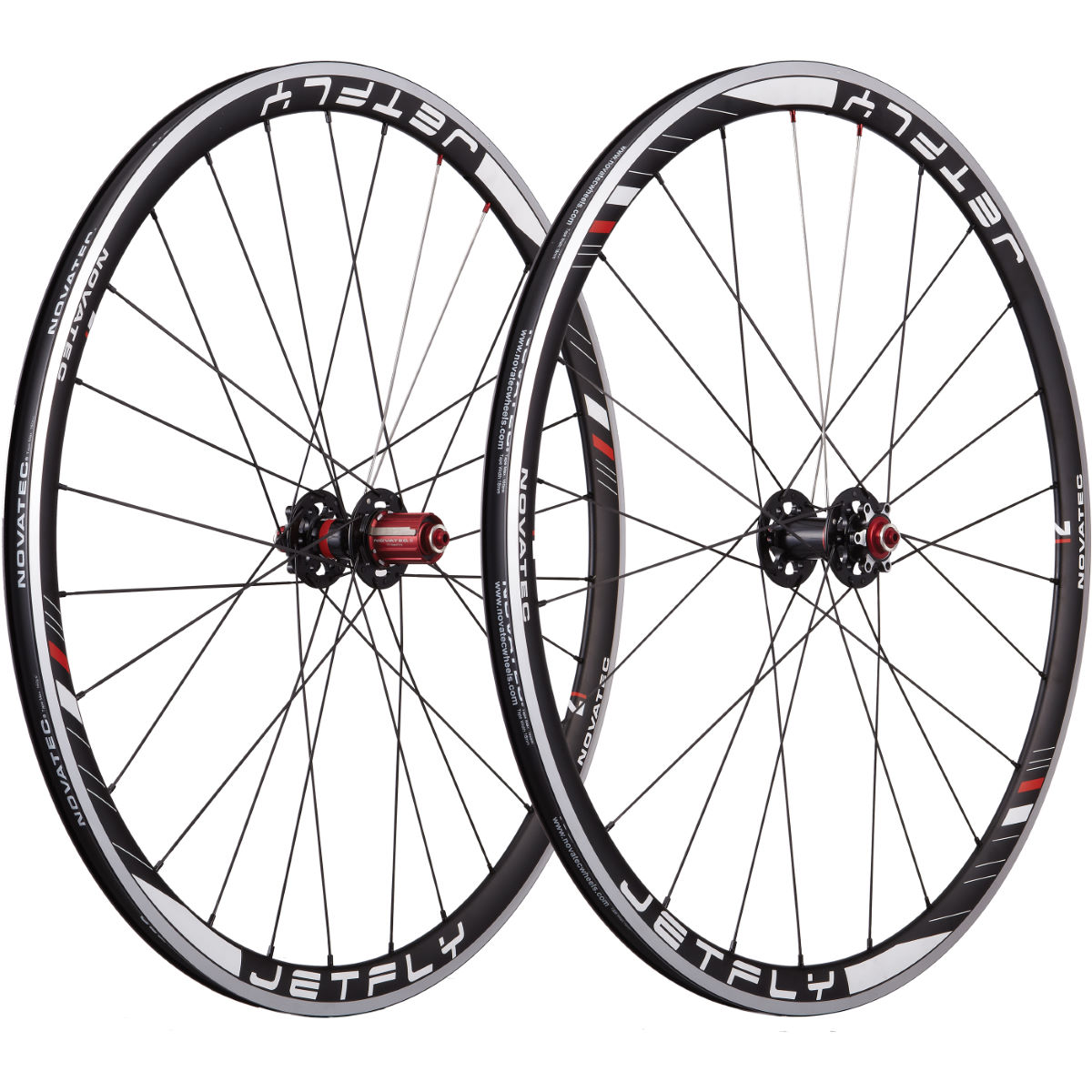 Novatec Jetfly Alloy Clincher Disc Brake Wheelset Performance Wheels