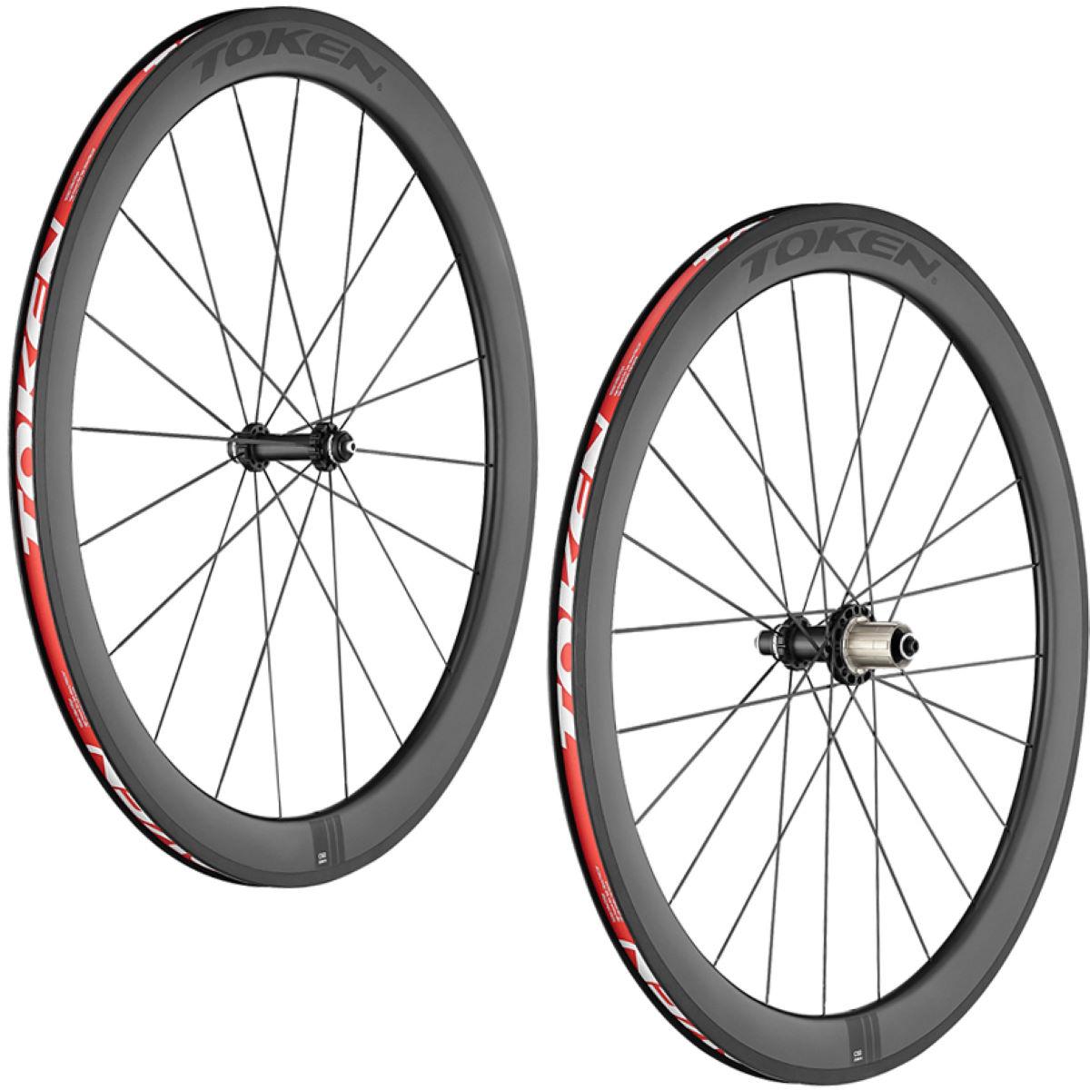 Token C50 Full Carbon Clincher Wheelset Performance Wheels