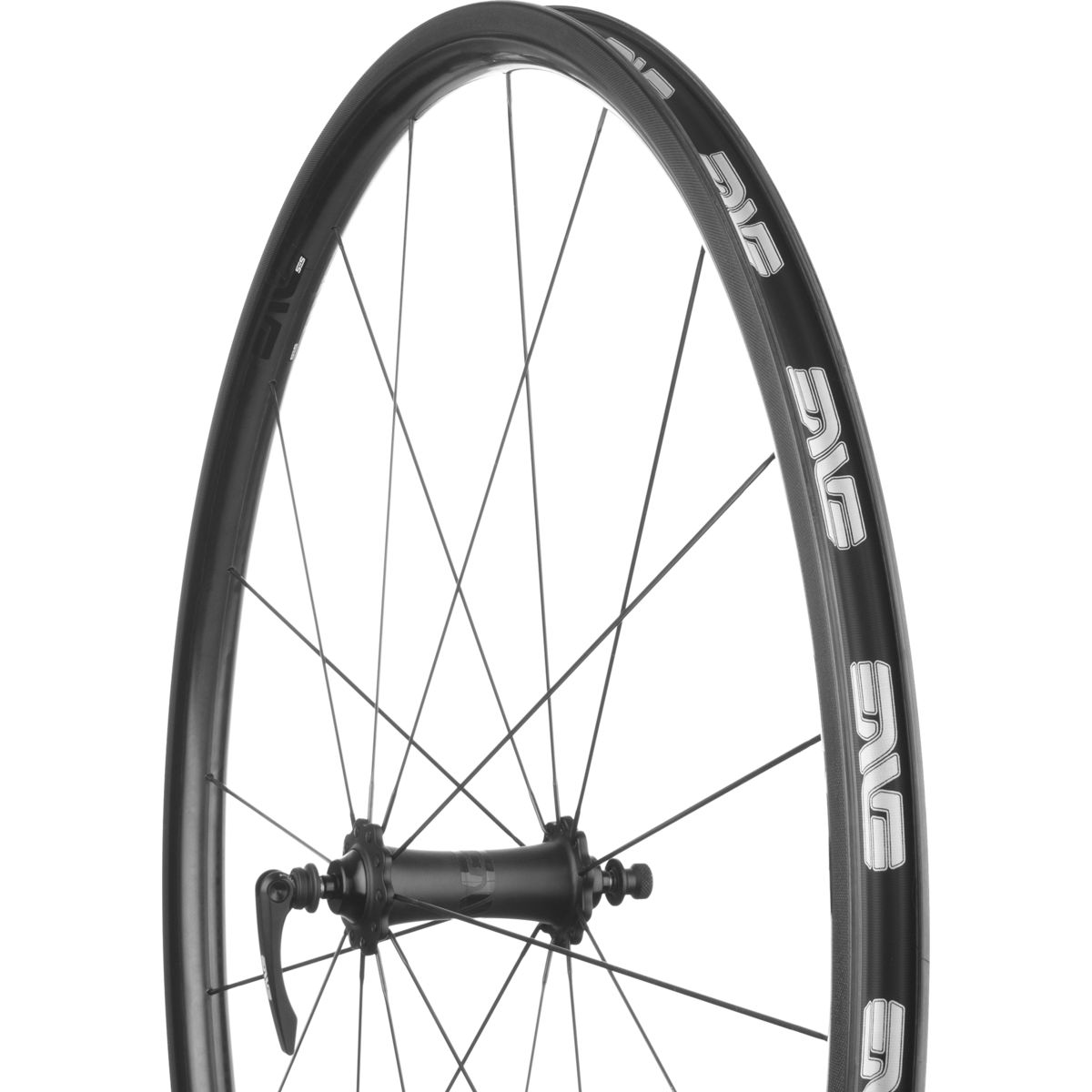 ENVE SES 2.2 Wheelset ENVE Hubs Clincher Black Campagnolo 11-Speed Ceramic Bearings