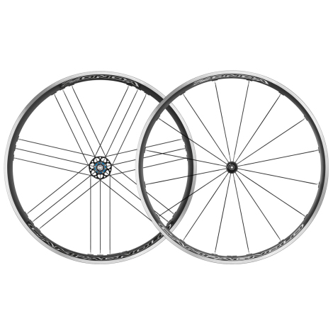 Campagnolo Zonda C17 Wheels Campagnolo Pair 11 Speed 700c Clincher Continental GP4000sII 25mm Tyres Tubes