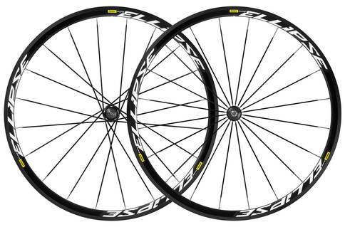 Mavic Ellipse Clincher Wheelset 2016 Aluminium