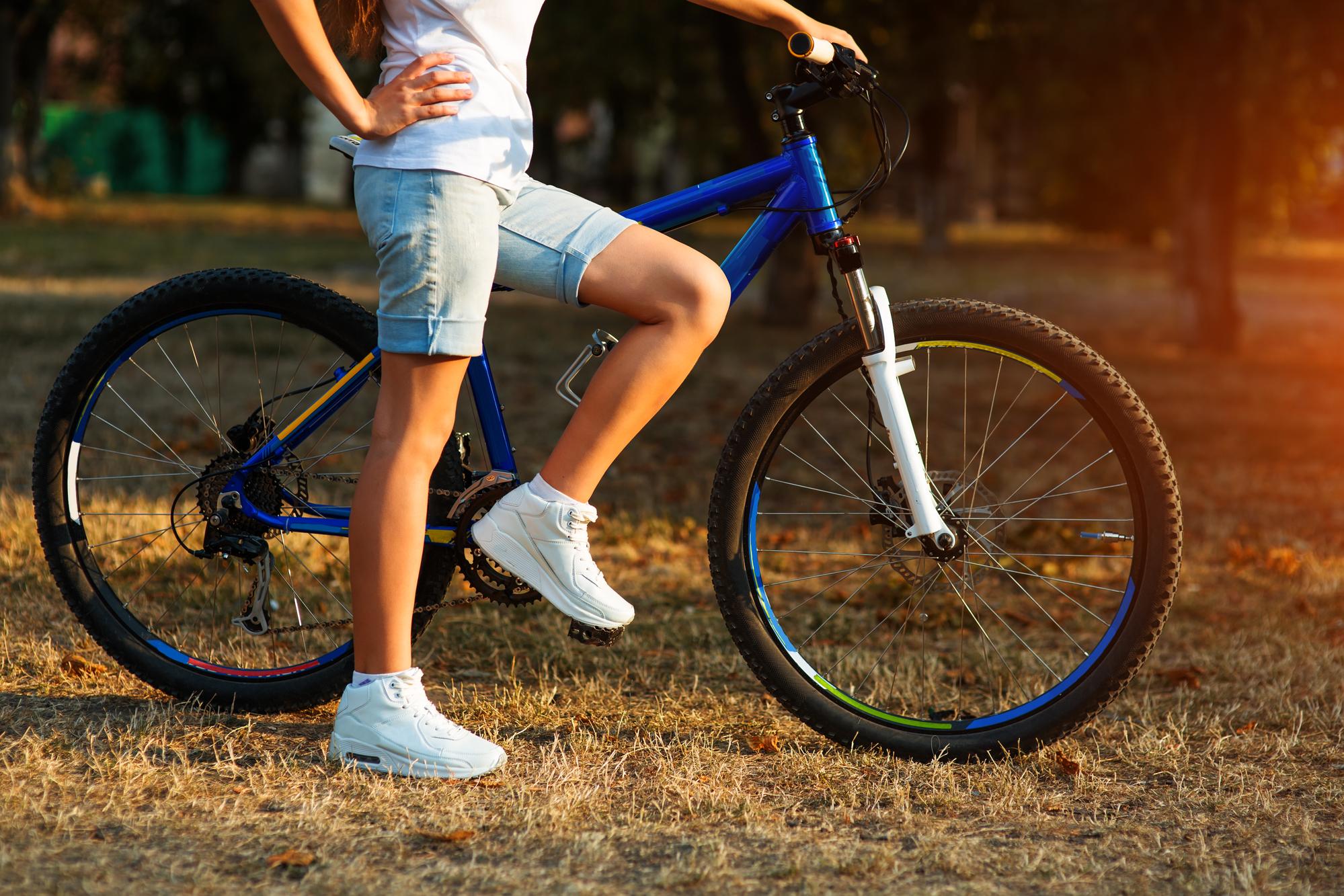 bike in park