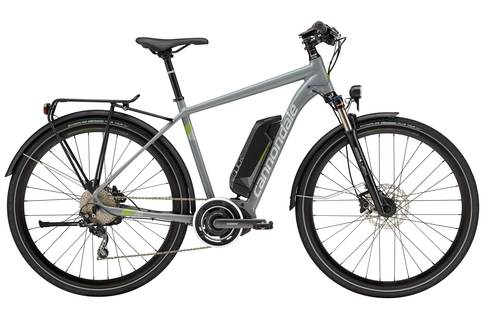 Cannondale Quick Neo Tourer 2017 Electric Grey Green