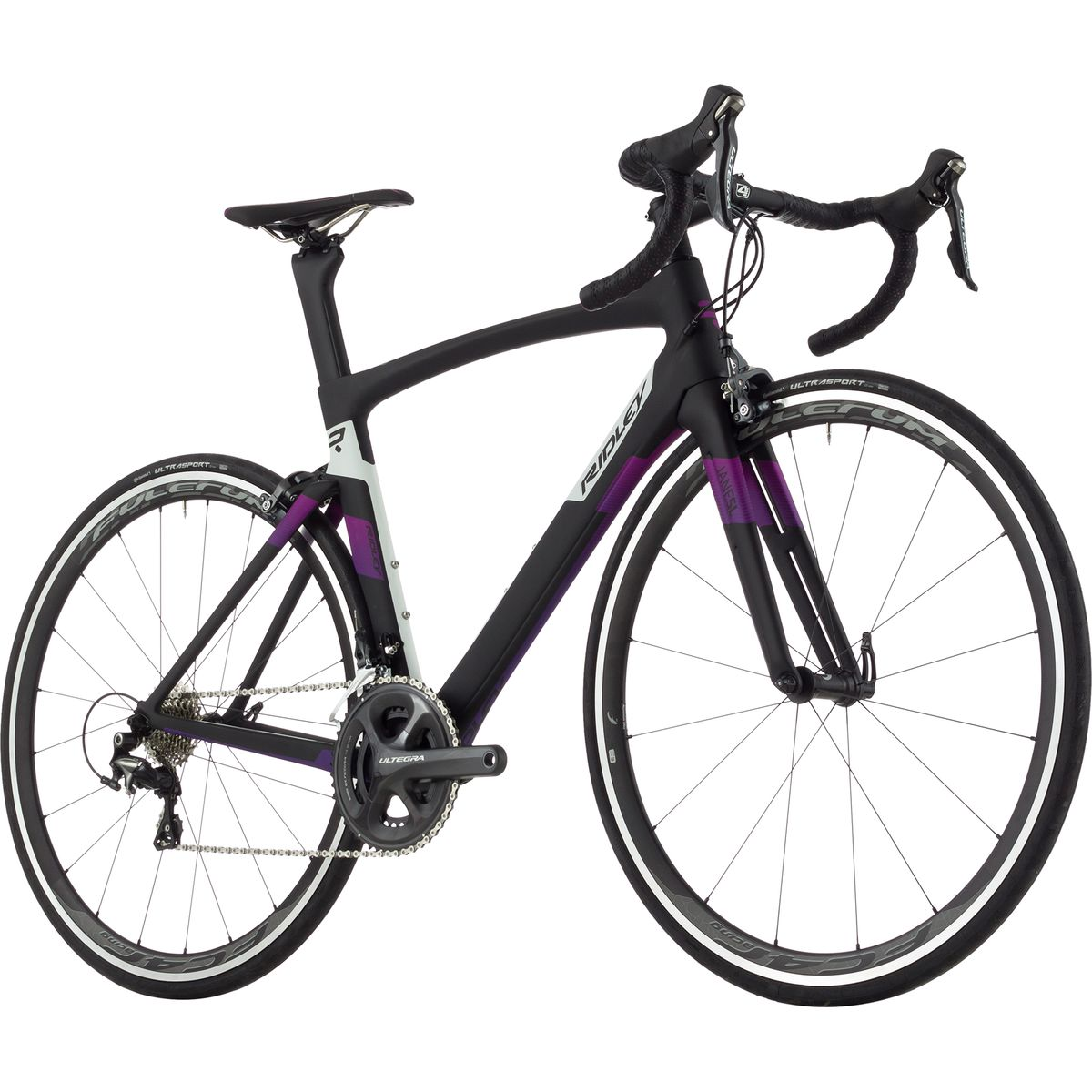 Ridley Jane SL Ultegra 2017 Black White Purple