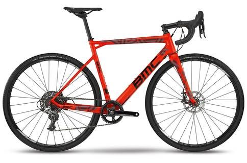 BMC Crossmachine 01 Two 2018 Red Black