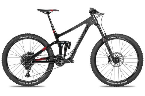 Norco Range C2 29er 2018 Black Red
