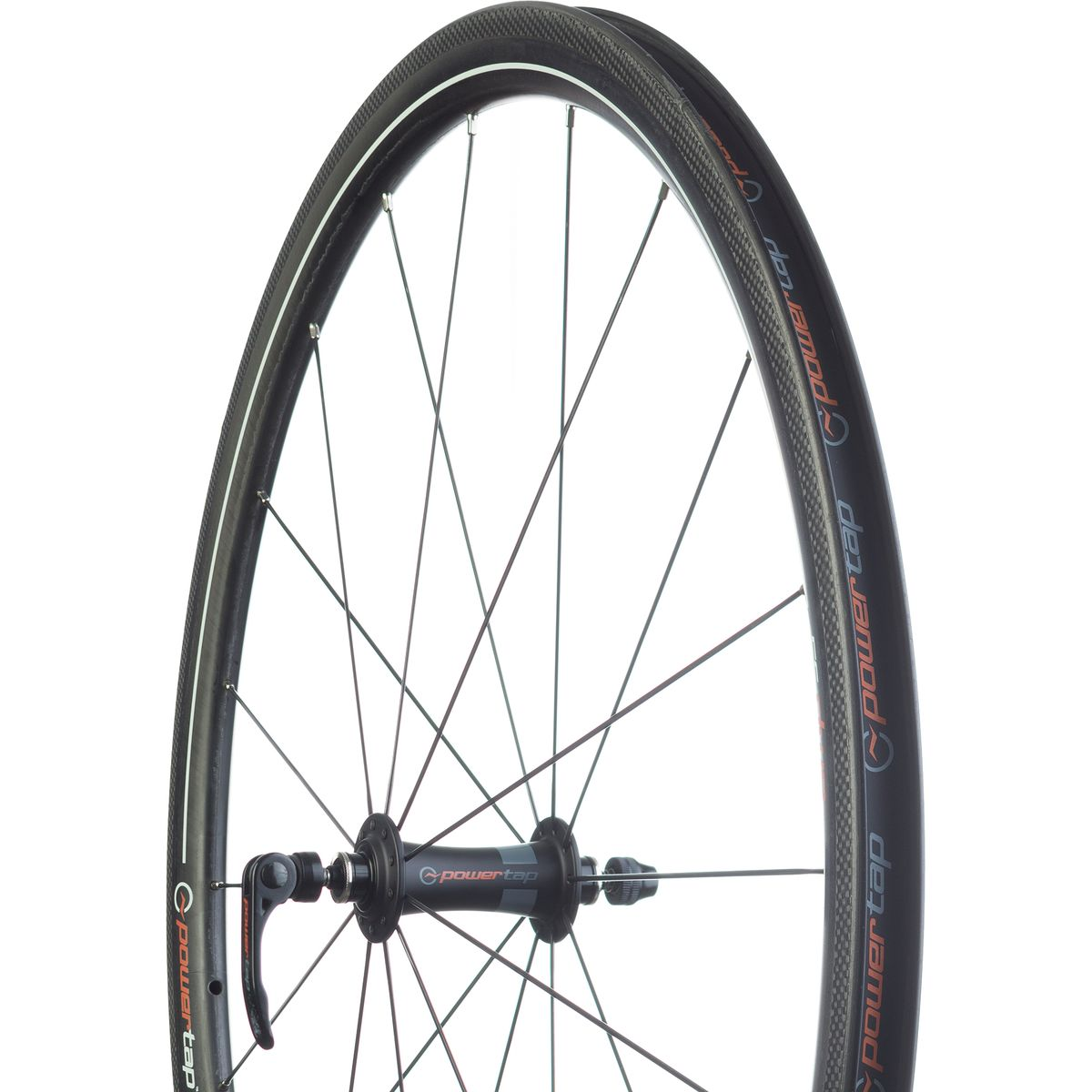 PowerTap G3 AMP 35 Carbon Clincher Wheelset Black Shimano SRAM