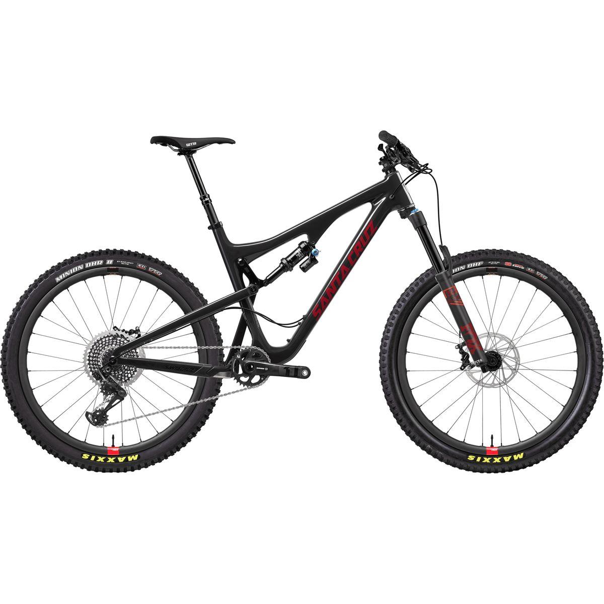 Santa Cruz Bicycles Bronson 2.1 Carbon CC X01 Eagle Reserve Complete 2018 Carbon Sriracha