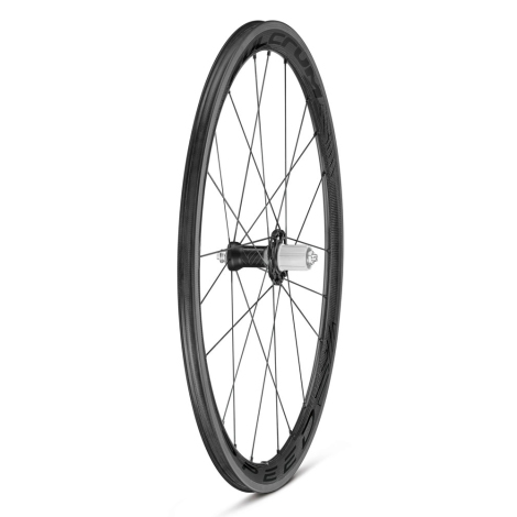 Fulcrum Racing Speed 40C Carbon Clincher Wheelset 700c Pair Shimano 8-11 Speed Clincher