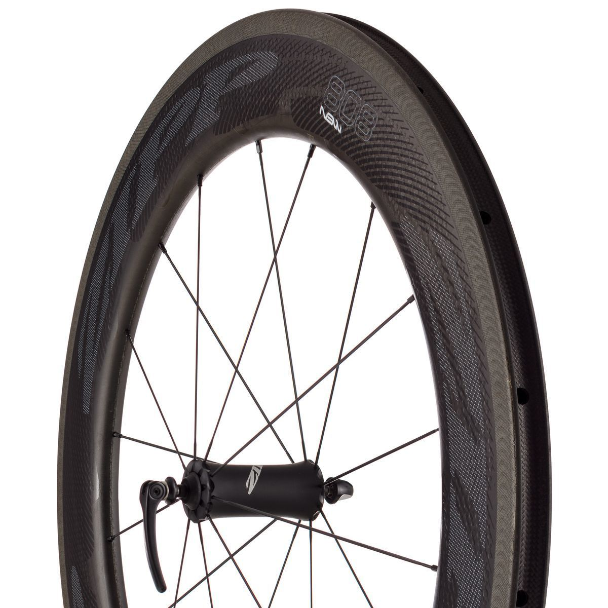 Zipp 808 NSW Carbon Clincher Wheelset Black SRAM Shimano 11-speed