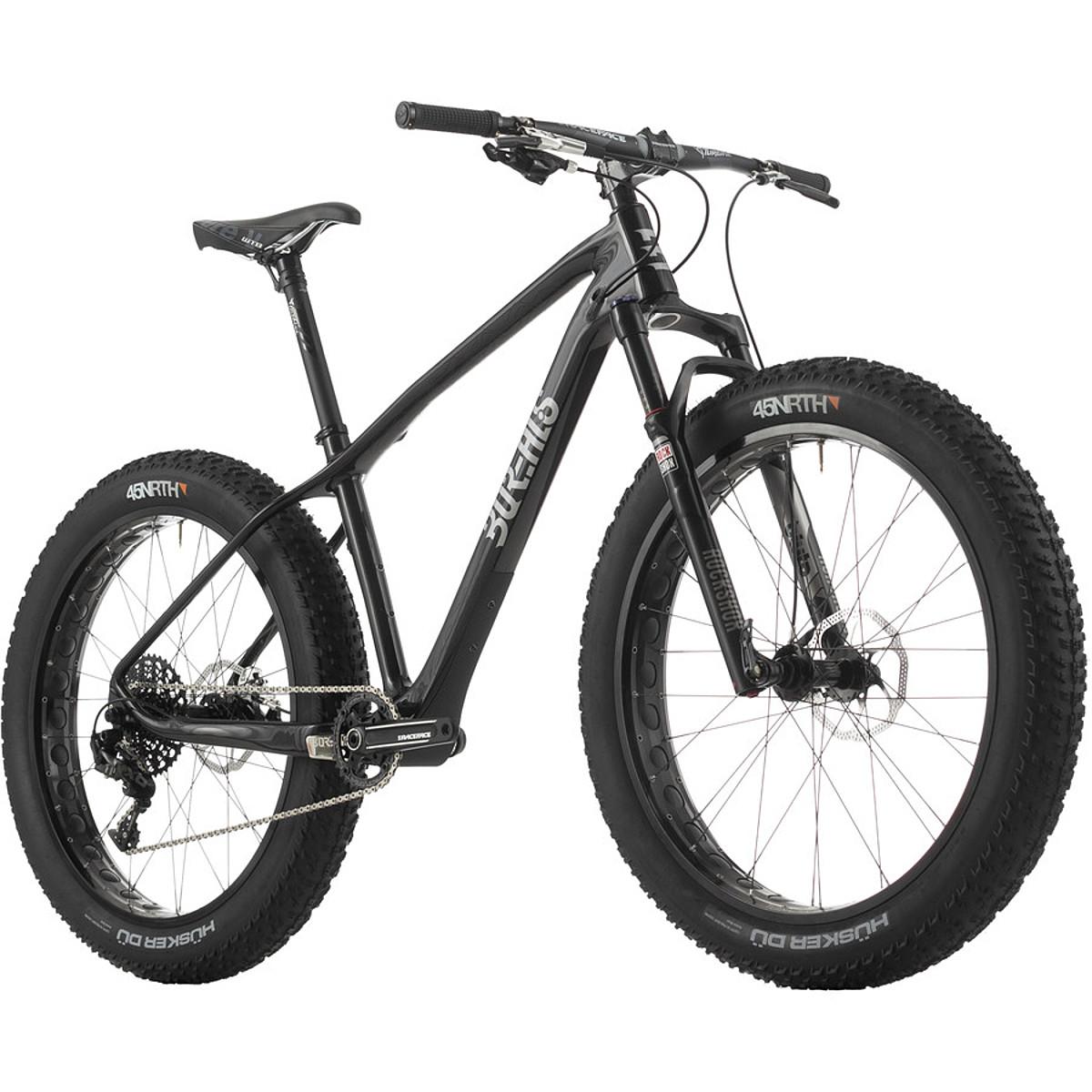 Borealis Bikes Echo X01 Complete Fat 2016 Black