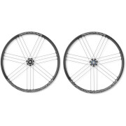 Campagnolo Zonda C17 Disc Brake Bolt-Thru Clincher Wheelset 2018 - 6 Bolt Rotor Campagnolo Label