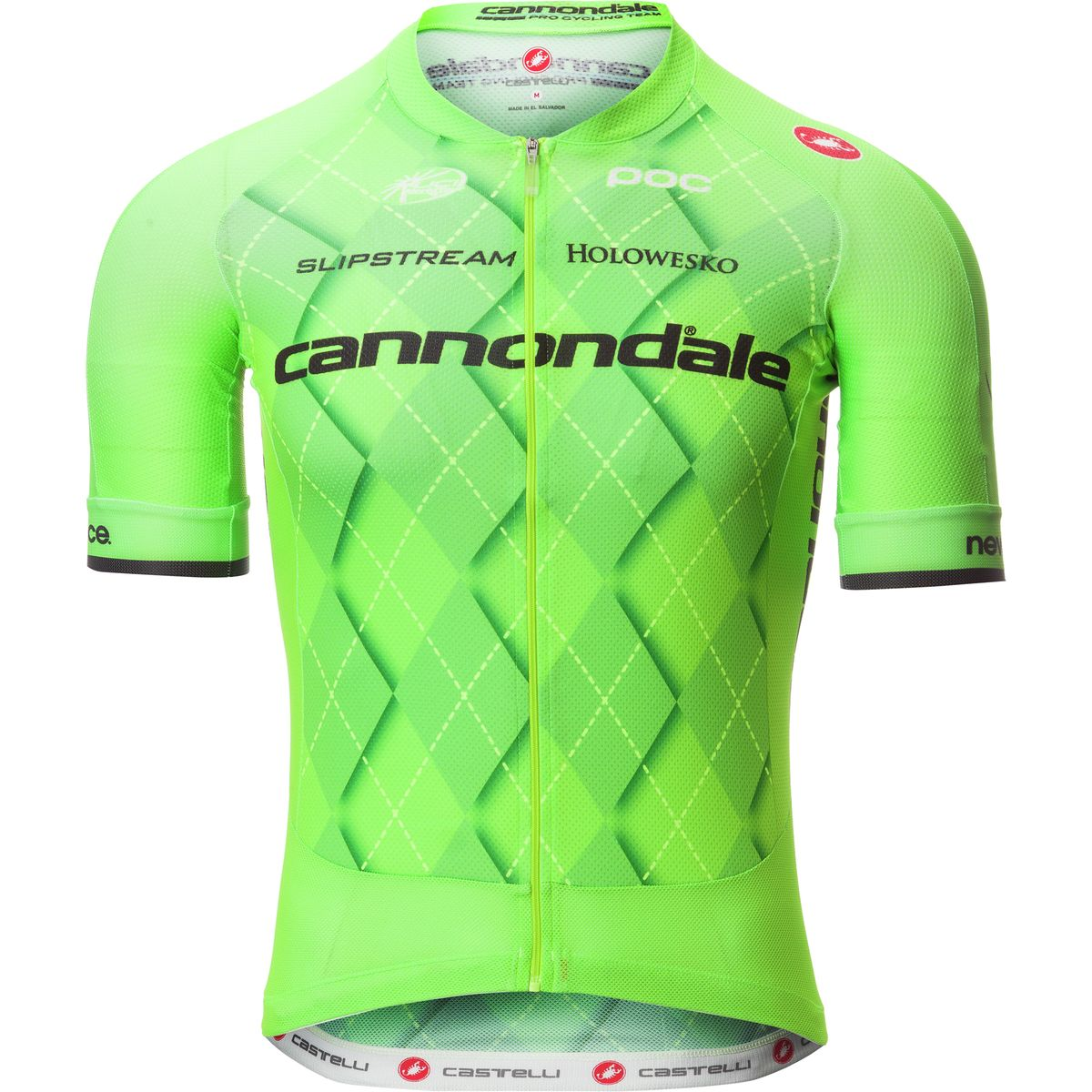 Castelli Cannondale Aero Race 5.1 Jersey Sprint Green