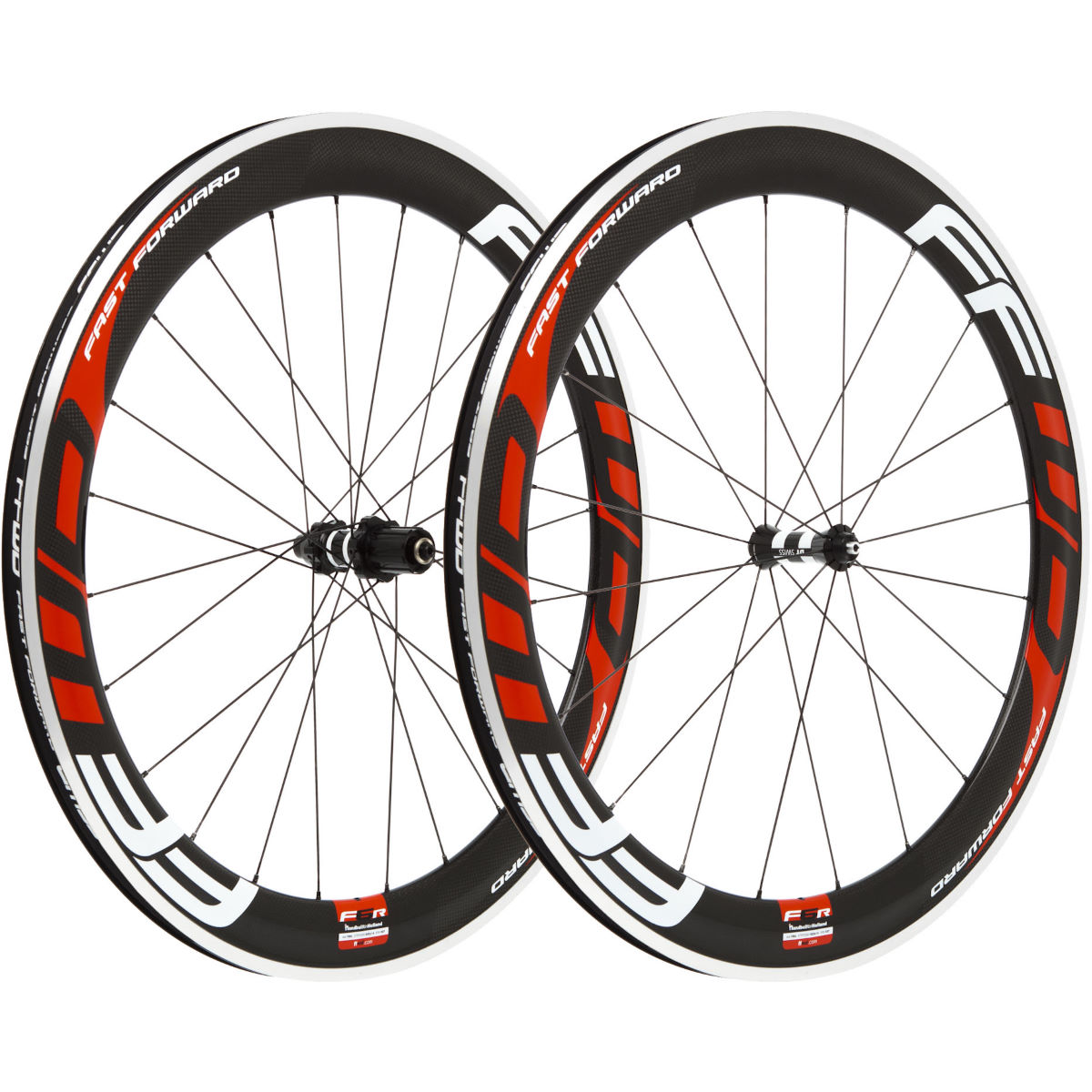 Fast Forward Carbon F6R Clincher 60mm SP Wheelset Performance Wheels