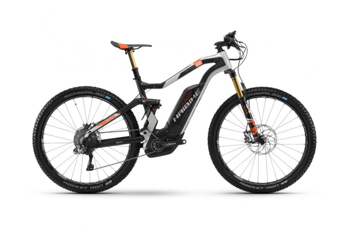 Haibike XDURO FullSeven Car. 10.0 500Wh 11-G XTR HB BCXN carbon silber orange m. Gr.