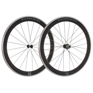 Token C55A Alloy Carbon Clincher Wheelset Campagnolo 10 11 Spd