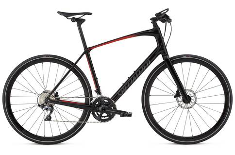 Specialized Sirrus Pro Carbon 2018 Black Red