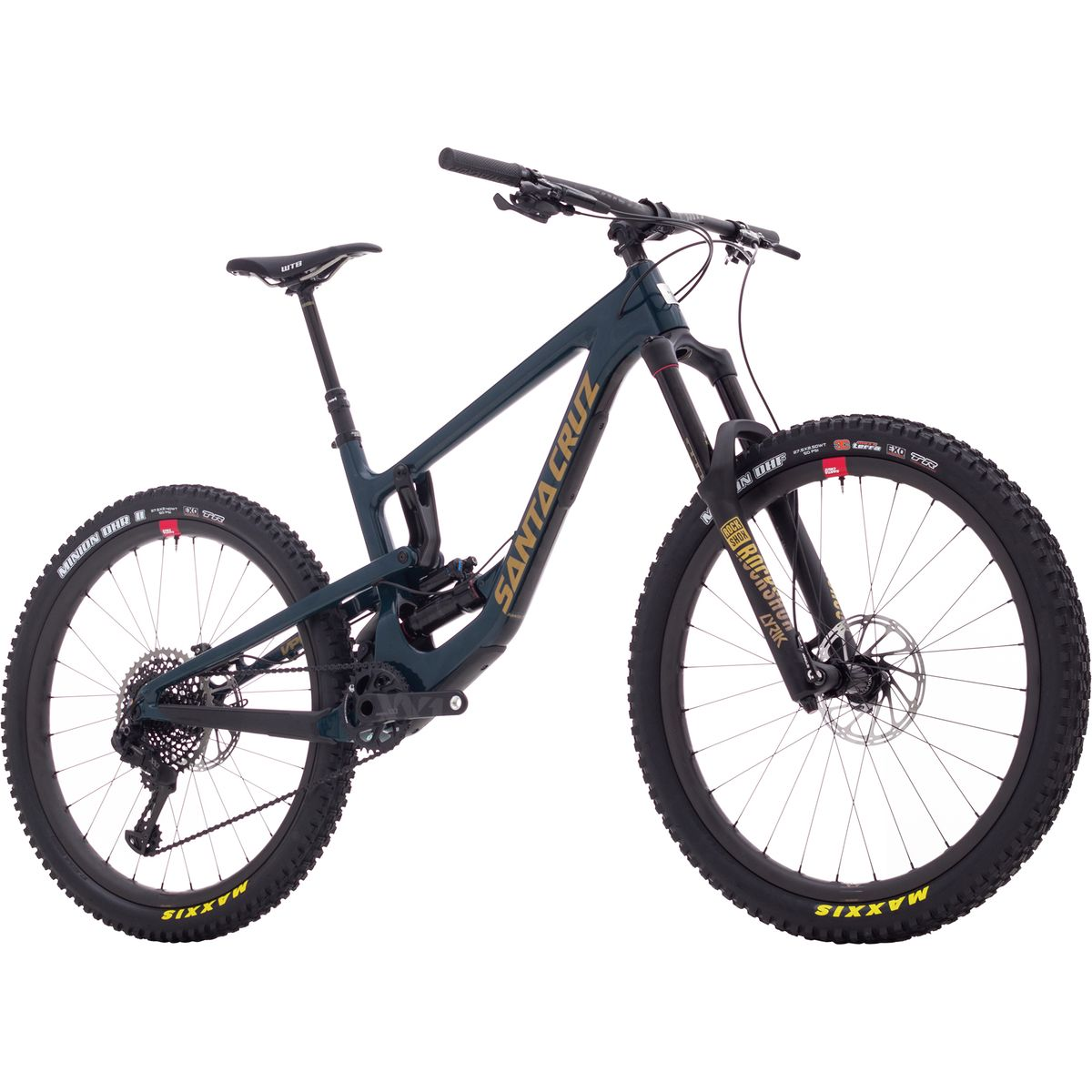 Santa Cruz Bicycles Nomad Carbon CC XX1 Reserve RCT Air Complete 2018 Blue