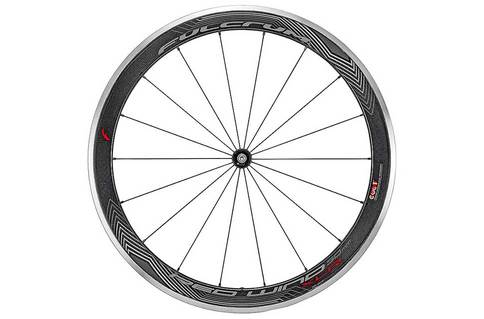 Fulcrum Wind XLR Carbon Clincher CULT Rim Brake 700C Wheelset Black White Alloy Carbon Campagnolo