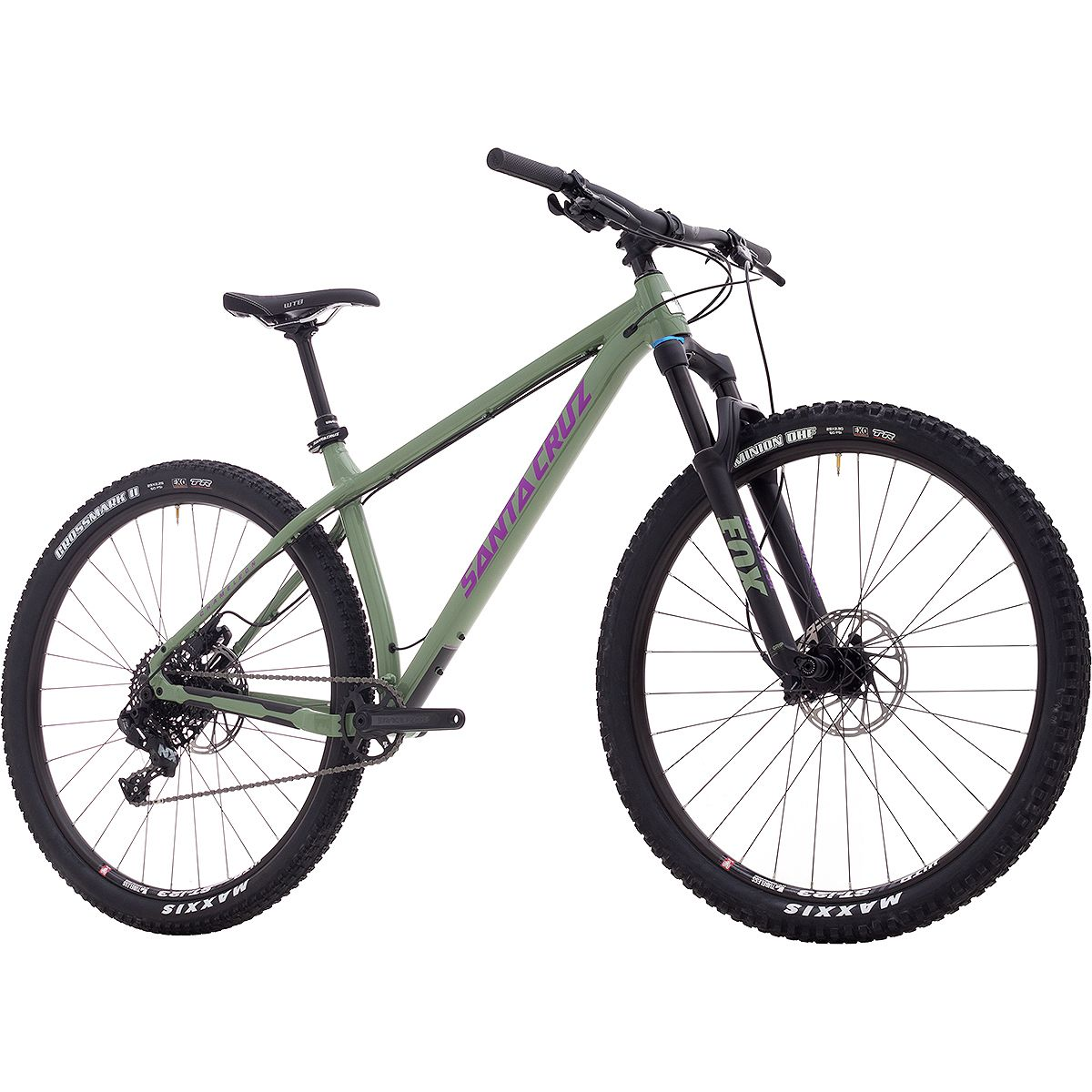 Santa Cruz Bicycles Chameleon R Complete 2018 Green Purple