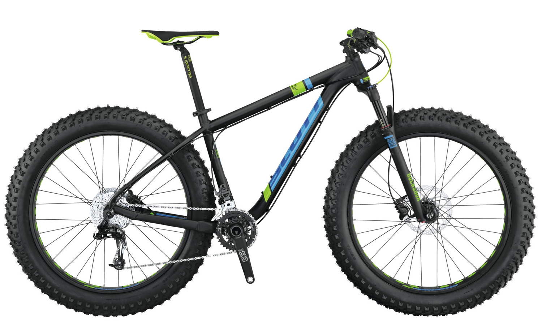 Scott Scale Big Ed Fatbike 44 schwarz blau