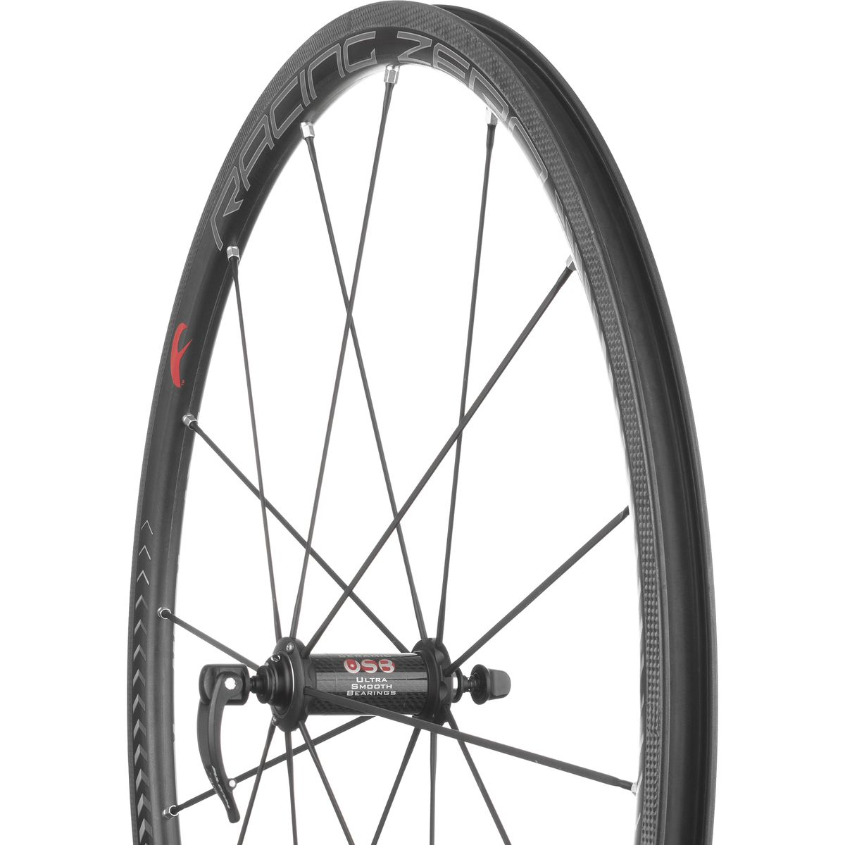 Fulcrum Racing Zero Carbon Wheelset Clincher UD Carbon Campagnolo