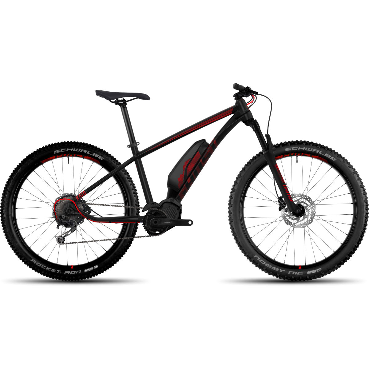 Ghost Kato S3.7 Bike Black Red Stock Bi