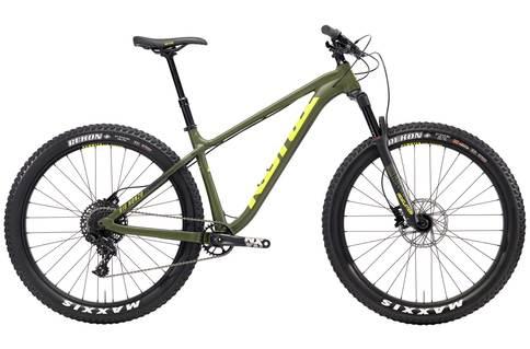 Kona Big Honzo DL 2018 Mountain Bike | Green - L