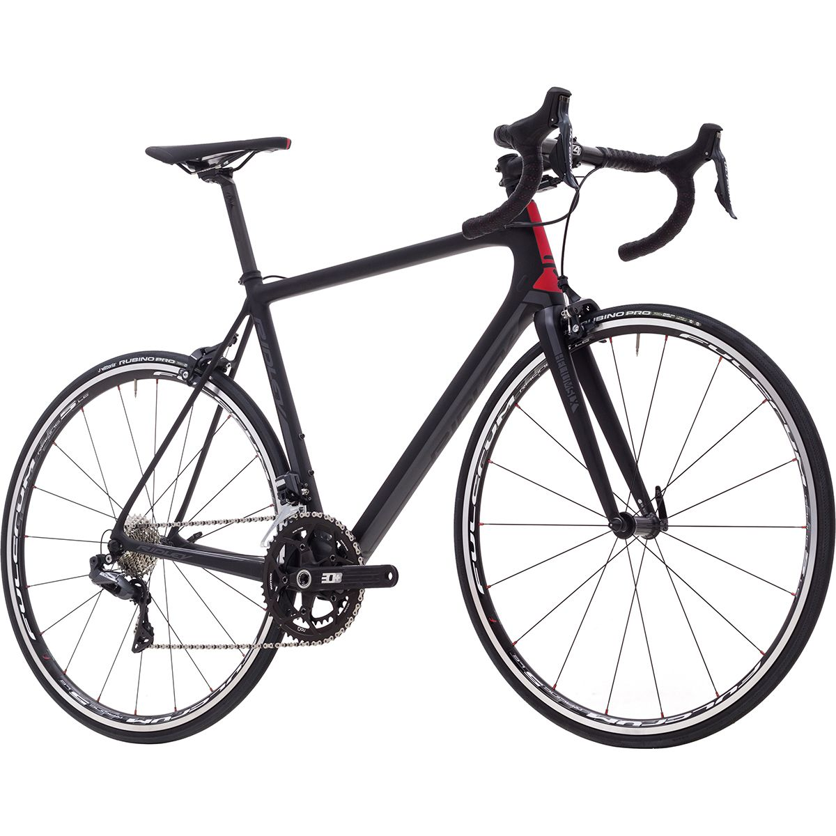 Ridley Helium SLX Ultegra Di2 Smokey Black Anthracite Red