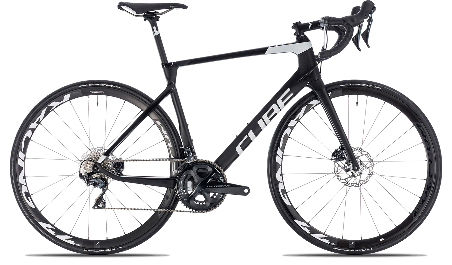 Cube Agree C 62 Race Disc 2018 60 carbon n white