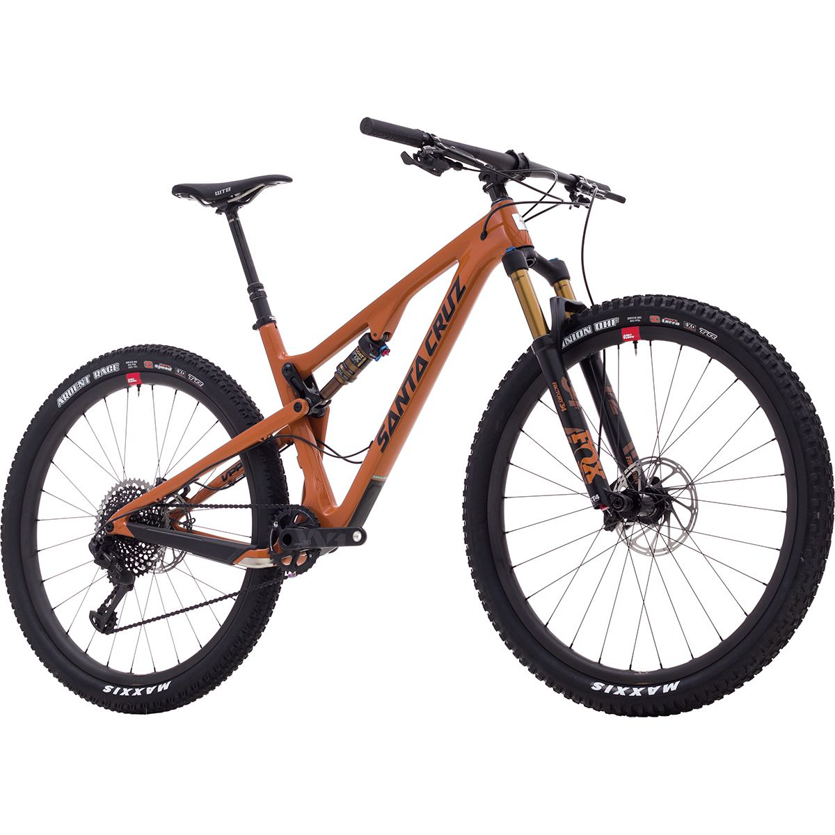 Santa Cruz Bicycles Tallboy Carbon CC XX1 Eagle Reserve Complete 2018 Rust Black